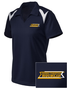 Sierra Christian School Rocklin Embroidered Holloway Women's Laser Polo