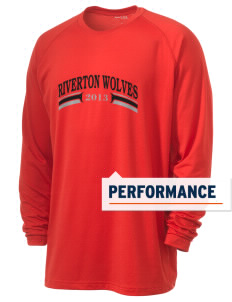 Riverton Elementary School Riverton Wolves Men's Ultimate Performance Long Sleeve T-Shirt