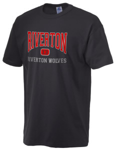 Riverton Elementary School Riverton Wolves  Russell Men's NuBlend T-Shirt