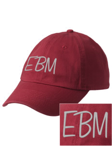 Edna Bigham Mays Elementary School Trojans Embroidered Champion 6-Panel Cap