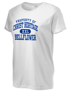 Christ Heritage Academy Bellflower Women's 6.1 oz Ultra Cotton T-Shirt
