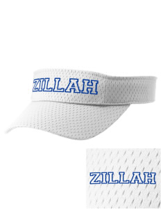 Christian Worship Center Zillah Embroidered Woven Cotton Visor