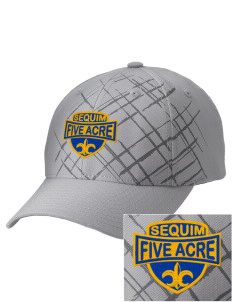 Five Acre School Sequim Embroidered Mixed Media Cap