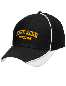 Five Acre School Sequim Embroidered New Era Contrast Piped Performance Cap
