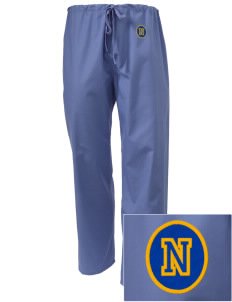 Baldwin Peck Preparatory School North Palm Beach Embroidered Scrub Pants