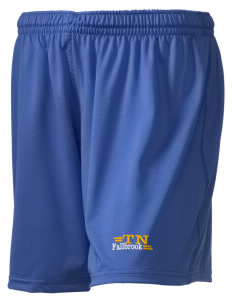 "The New School Fallbrook Embroidered Holloway Women's Performance Shorts, 5"" Inseam"