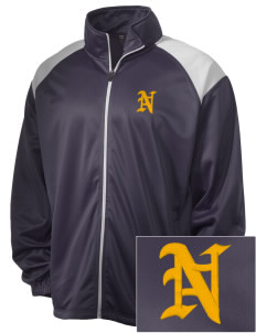 Integrity Charter School National City Embroidered Men's Tricot Track Jacket