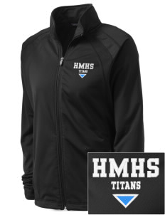 Hercules MiddleHigh School Titans Embroidered Women's Tricot Track Jacket