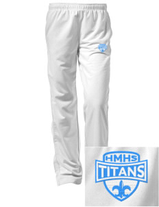Hercules MiddleHigh School Titans Embroidered Women's Tricot Track Pants