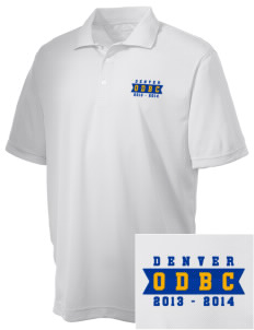 Omar D. Blair Charter School Denver Embroidered Men's Double Mesh Polo