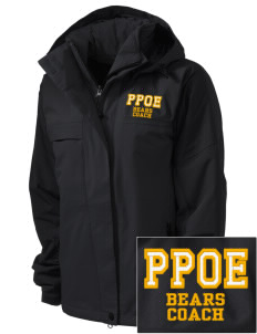 Pikes Peak School of Expeditionary Learn Bears  Embroidered Women's Nootka Jacket