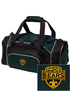 Pikes Peak School of Expeditionary Learn Bears Embroidered Holloway Duffel Bag