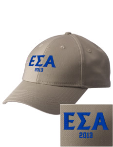 Epsilon Sigma Alpha  Embroidered New Era Adjustable Structured Cap