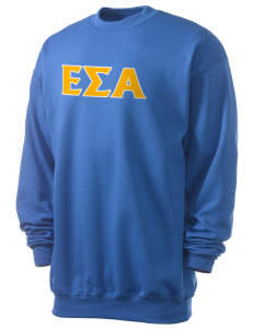 Epsilon Sigma Alpha Men's 7.8 oz Lightweight Crewneck Sweatshirt