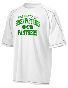 Green Pastures Elementary School Panthers Champion Men's 4.1 oz Double Dry Odor Resistance T-Shirt