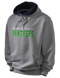Green Pastures Elementary School Panthers Champion Men's Hooded Sweatshirt