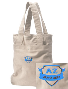 Alpha Zeta Embroidered Alternative The Berkeley Tote