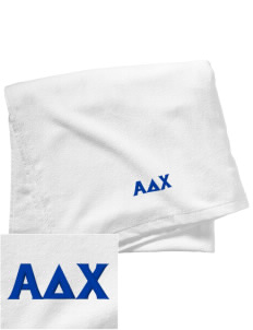 Alpha Delta Chi Embroidered Beach Towel
