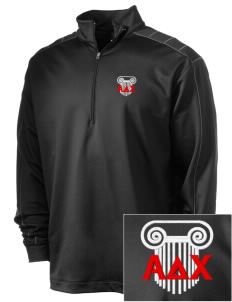 Alpha Delta Chi Embroidered Nike Men's Golf Dri-Fit 1/2 Zip