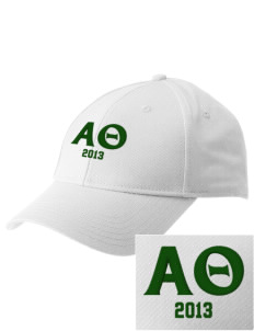 Alpha Theta  Embroidered New Era Adjustable Structured Cap