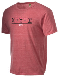 Chi Upsilon Sigma Alternative Men's Eco Heather T-shirt