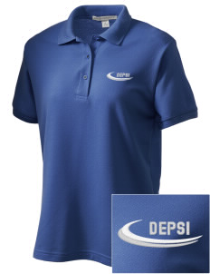 Delta Epsilon Psi Women's Embroidered Silk Touch Polo
