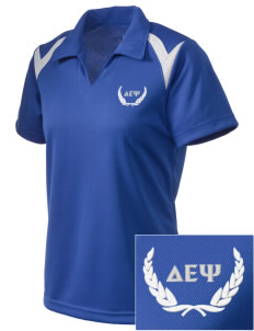 Delta Epsilon Psi Embroidered Holloway Women's Laser Polo