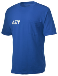 Delta Epsilon Psi Men's American Classic Pocket T-Shirt