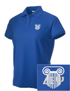 Delta Epsilon Psi Embroidered Women's Technical Performance Polo
