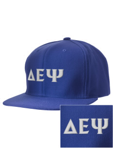 Delta Epsilon Psi Embroidered D-Series Cap