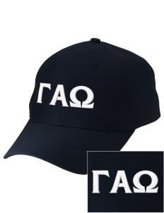 Gamma Alpha Omega Embroidered Low-Profile Cap