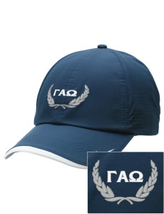 Gamma Alpha Omega Embroidered Nike Dri-FIT Swoosh Perforated Cap