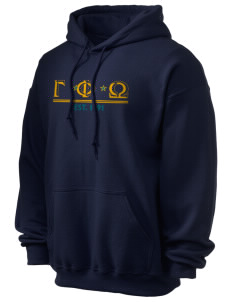 Gamma Phi Omega Ultra Blend 50/50 Hooded Sweatshirt