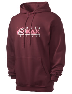 Kappa Delta Chi Men's 7.8 oz Lightweight Hooded Sweatshirt