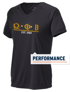 Omega Phi Beta Holloway Women's Zoom Performance T-Shirt