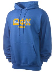 Omega Phi Chi Men's 7.8 oz Lightweight Hooded Sweatshirt
