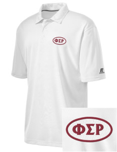 Phi Sigma Rho Embroidered Russell Coaches Core Polo Shirt