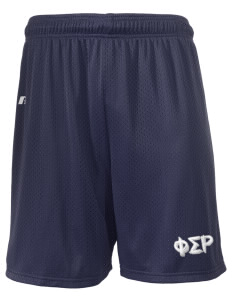 "Phi Sigma Rho  Russell Men's Mesh Shorts, 7"" Inseam"