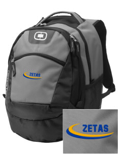 Zeta Phi Rho Embroidered OGIO Rogue Backpack