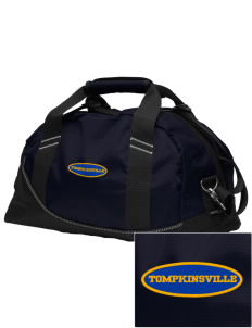 Christ The King Parish Tompkinsville Embroidered OGIO Half Dome Duffel