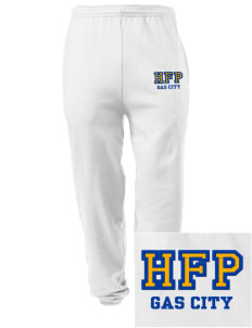 Holy Family Parish Gas City Embroidered Men's Sweatpants with Pockets