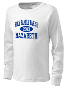 Holy Family Parish Nazareth  Kid's Long Sleeve T-Shirt