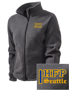 Holy Family Parish Seattle Embroidered Women's Fleece Full-Zip Jacket