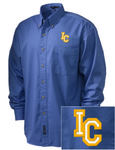 Immaculate Conception Sulphur Embroidered Tall Men's Twill Shirt