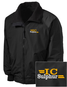 Immaculate Conception Sulphur Embroidered Tall Men's Challenger Jacket