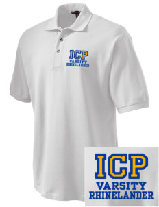 Immaculate Conception Parish Rhinelander Embroidered Tall Men's Pique Polo