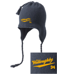 Immaculate Conception Parish Willoughby Embroidered Knit Hat with Earflaps