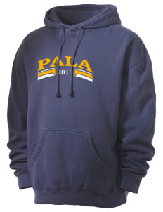 Mission San Antonio de Pala Pala Men's 80/20 Pigment Dyed Hooded Sweatshirt
