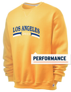 Our Lady Help of Christians Parish Los Angeles  Russell Men's Dri-Power Crewneck Sweatshirt