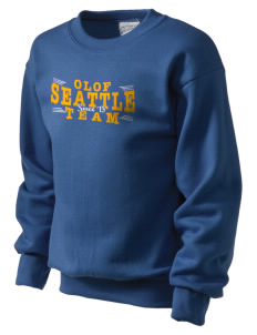 Our Lady of Fatima Parish Seattle Kid's Crewneck Sweatshirt